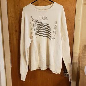 Ralph Lauren denim and supply sweatshirt